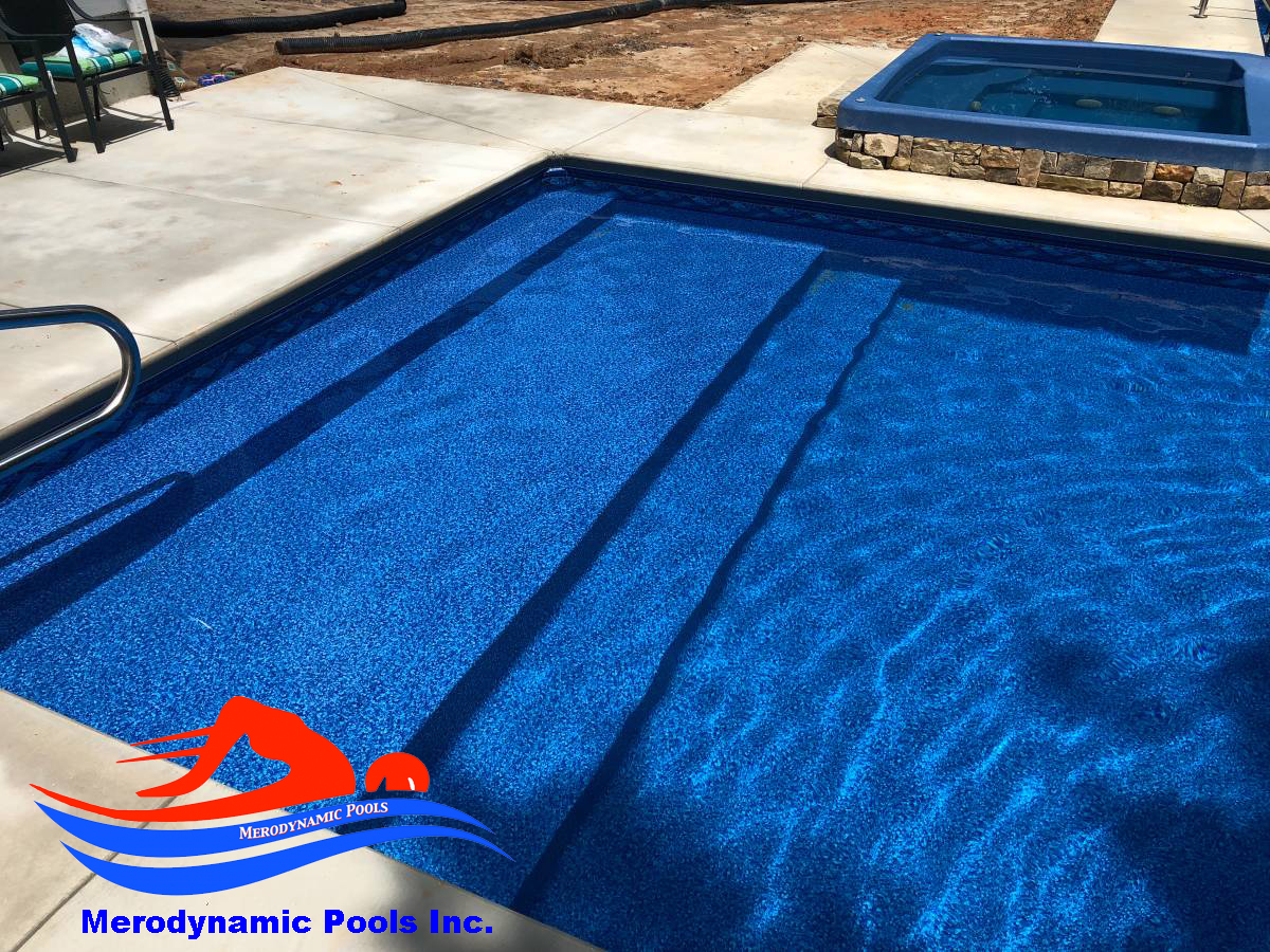 Vinyl In Ground Pool Liner Replacement / Pool Renovation